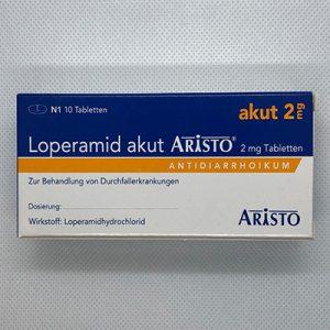 LOPERAMID akut Aristo 2 mg Tabletten 10 St