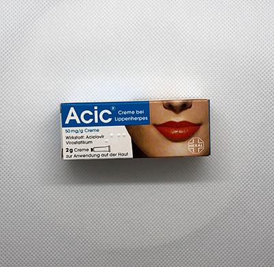 ACIC Creme bei Lippenherpes 2g