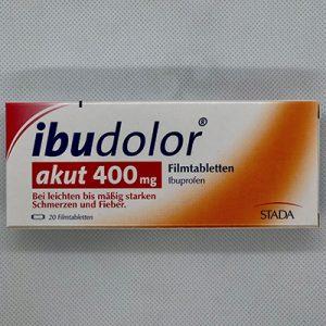 Ibudolor akut 400mg Schmerztabletten 20
