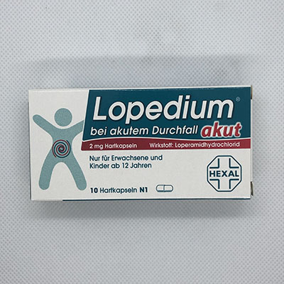 Lopedium akut 2mg Hartkapseln 10